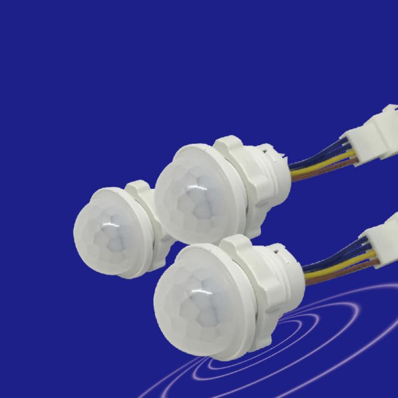 40 Вт пассивный инфракрасный мини-датчик детектора умный светильник переключатель 110V 265V светодиодных фар для авто вкл/выкл инфракрасный датчик движения из PIR детектор с автоматическим сенсором из нержавеющей