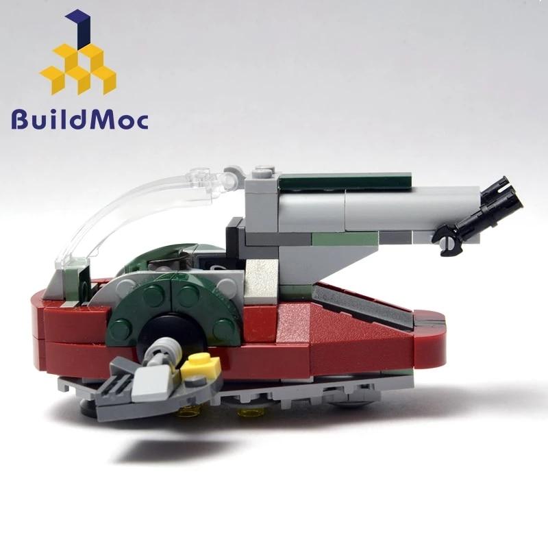 Buildmoc 20373 space wars universo novo escravo i modelo blocos de construção grandes presentes kit playset presentes compatíveis com 75060