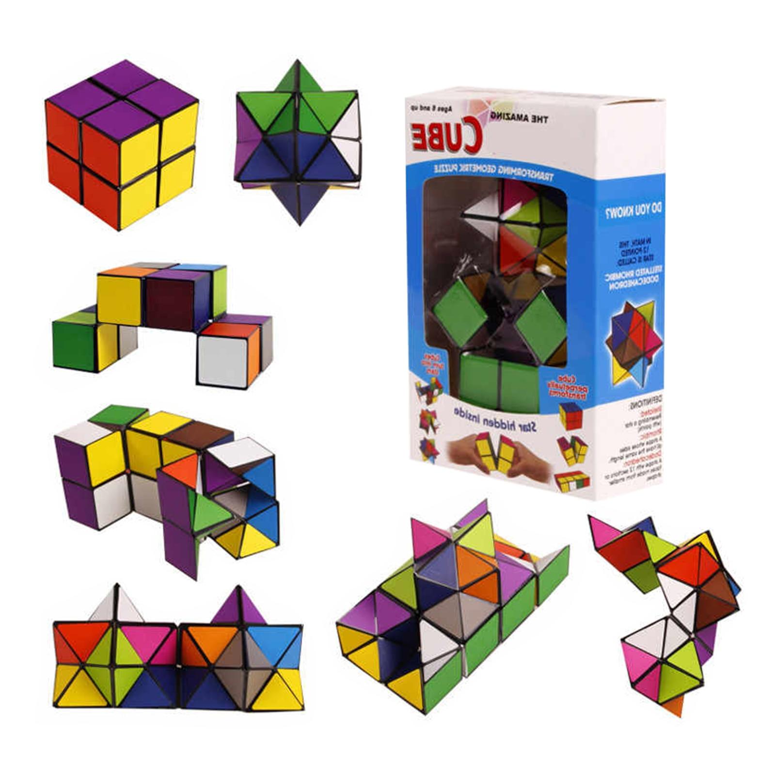 cubo magico 3d com estrela 2 em 1 resistente a altas temperaturas a prova dagua para