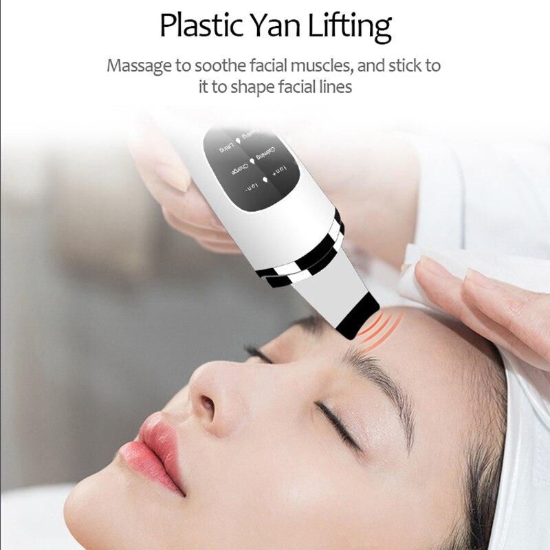 Chelyn.lee twarzy ultradźwiękowe jonów ujemnych zaskórnika trądzik smar porów Remover masażer kosmetyczny do twarzy narzędzia do pielęgnacji skóry