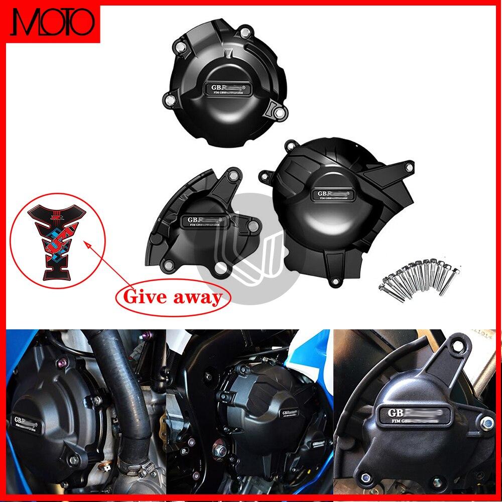 دراجة نارية المحرك حالة الحرس حامي غطاء ل GB سباق ل سوزوكي GSX-R1000 GSXR1000 L7 2017 2018 2019 2020