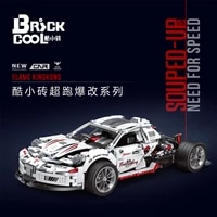 in stock high tech kc010 1995pcs toys super racing car model assembly building blocks bricks christmas gifts 23002 qc016 c61042