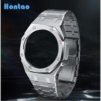 Hontao CasiOak 3th Generation GA2100 Metal Watch Strap GA2110 Watch Band Bezel for Casio G-Shock GA-2100 Replacement Accessories