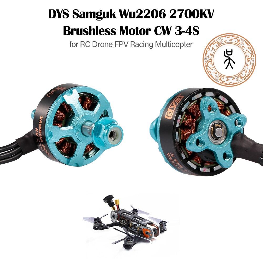 RC MODEL DYS Samguk series motor brushless motor Wu 2206 2400KV / 2700KV CW 3-6s for multirotor Quadcopter FPV enlarge