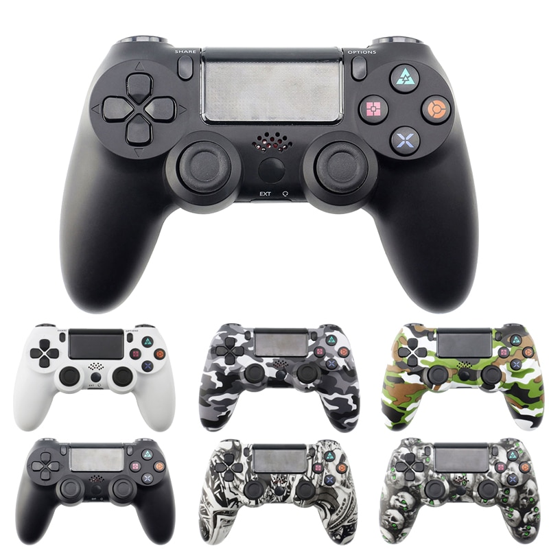 Bluetooth Wireless Gamepad Controller For Sony PS4/PS3 USB Wired PC Joystick Controle For Dualshock 4 Joypad For PlayStation 4 support bluetooth wireless controller for sony ps3 gamepad for ps3 console joystick for sony playstation 3 pc for dualshock