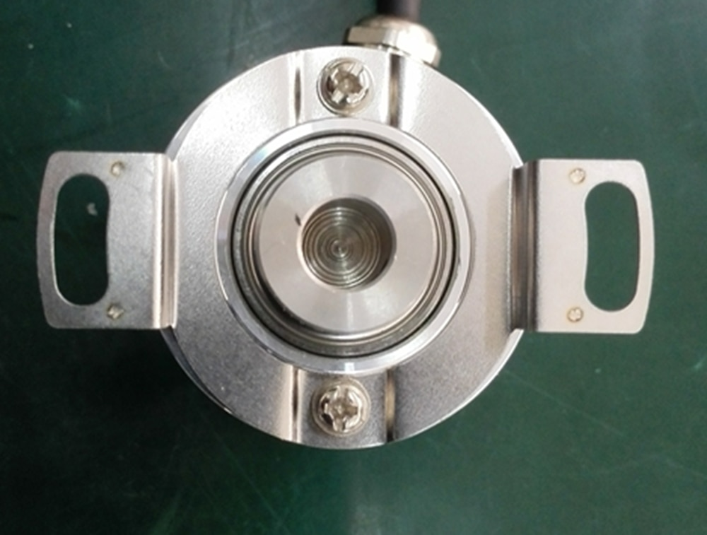 EL38F1024Z5L8X6PR3 hollow rotary encoder metal material using in industrial equipment high quality enlarge