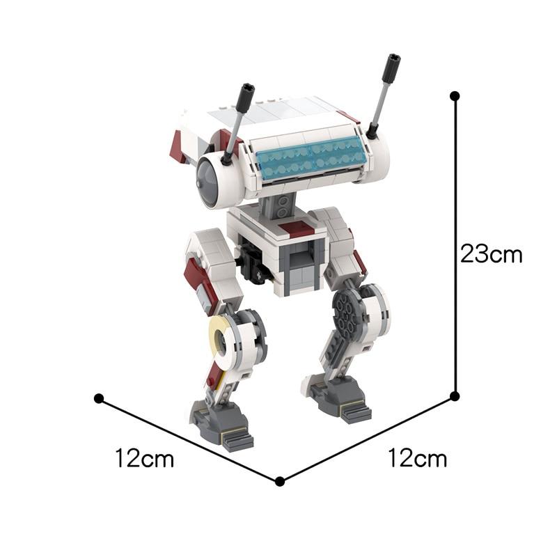 MOC Star Plan Fallen Order BD-1 Figures Bricks Creator Intelligent Robot Building Blocks DIY Educational Toys For Children Gifts  - buy with discount