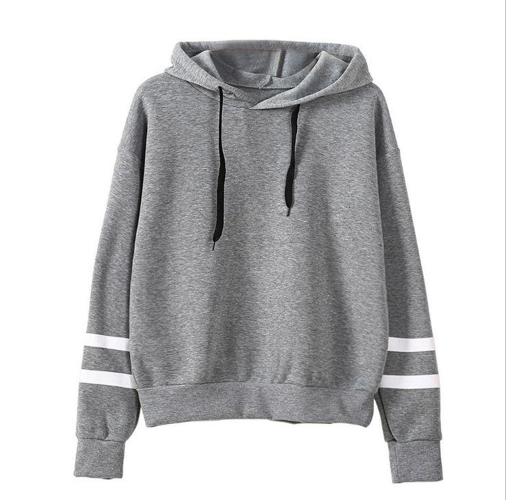 2021 тенденции моды Размеры S-3Xl Осень Женская Толстовка С Капюшоном Повседневный пуловер с длинными рукавами; Толстовка с капюшоном