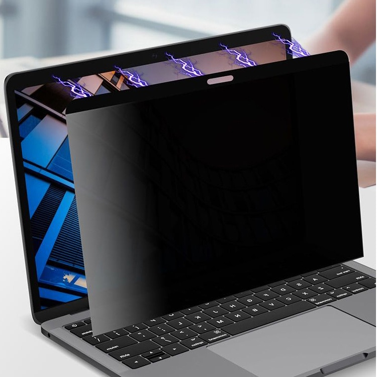 المغناطيسي الخصوصية حامي الشاشة ل ماك بوك M1 رقاقة برو 13 A2338 2020 مكافحة التجسس محمول واقية فيلم الخصوصية تصفية ل ماك