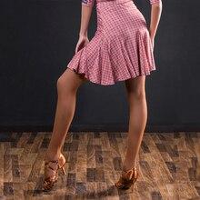 Latin Dance Skirt Female Adult New Lotus Leaf Skirt Professional Dance Costumes Latin Dance Dress Performance Clothing DQS3156