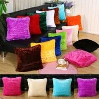 cushion cover plush velvet fur fluffy sofa soft cushion covers throw pillow case nordic home decor pillow covers decorative 43cm