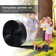 Outdoor Trampoline Sprinkler Garden Yard Water Park Sprayer Toys for Adults Kids Swimming Pool Summer Water Game