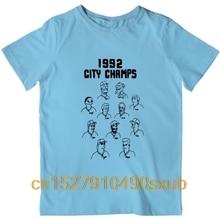 Fashion Printed men's T-Shirt Short Sleeve 1992 City Champs tshirt