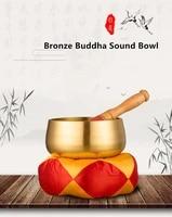 pure copper handmade buddha bowl yoga meditation chanting bowl sound therapy meditation bowl copper cymbal bowl home decoration