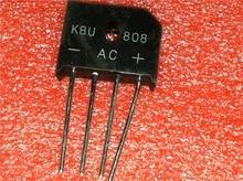 5 pièces/lot KBU808 ZIP-4 8A 800V diode pont redresseur