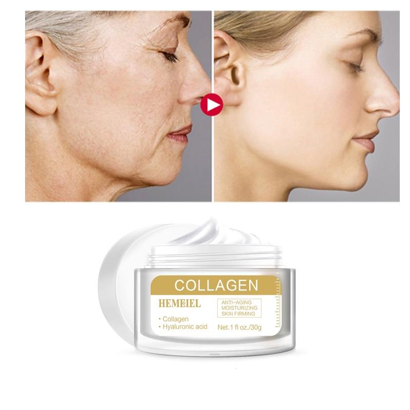 HEMEIEL Anti-wrinkle Cream Pure Collagen Cream Anti-aging Firming Skin Whitening Moisturizing Skin Nourishing Serum Skin Care недорого