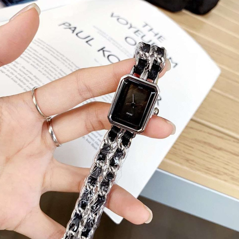 Square Women Watch Luxury Brand Classic Retro Quartz Watches Fashion Ladies Watch aaa Reloj de mujer Montre femme enlarge