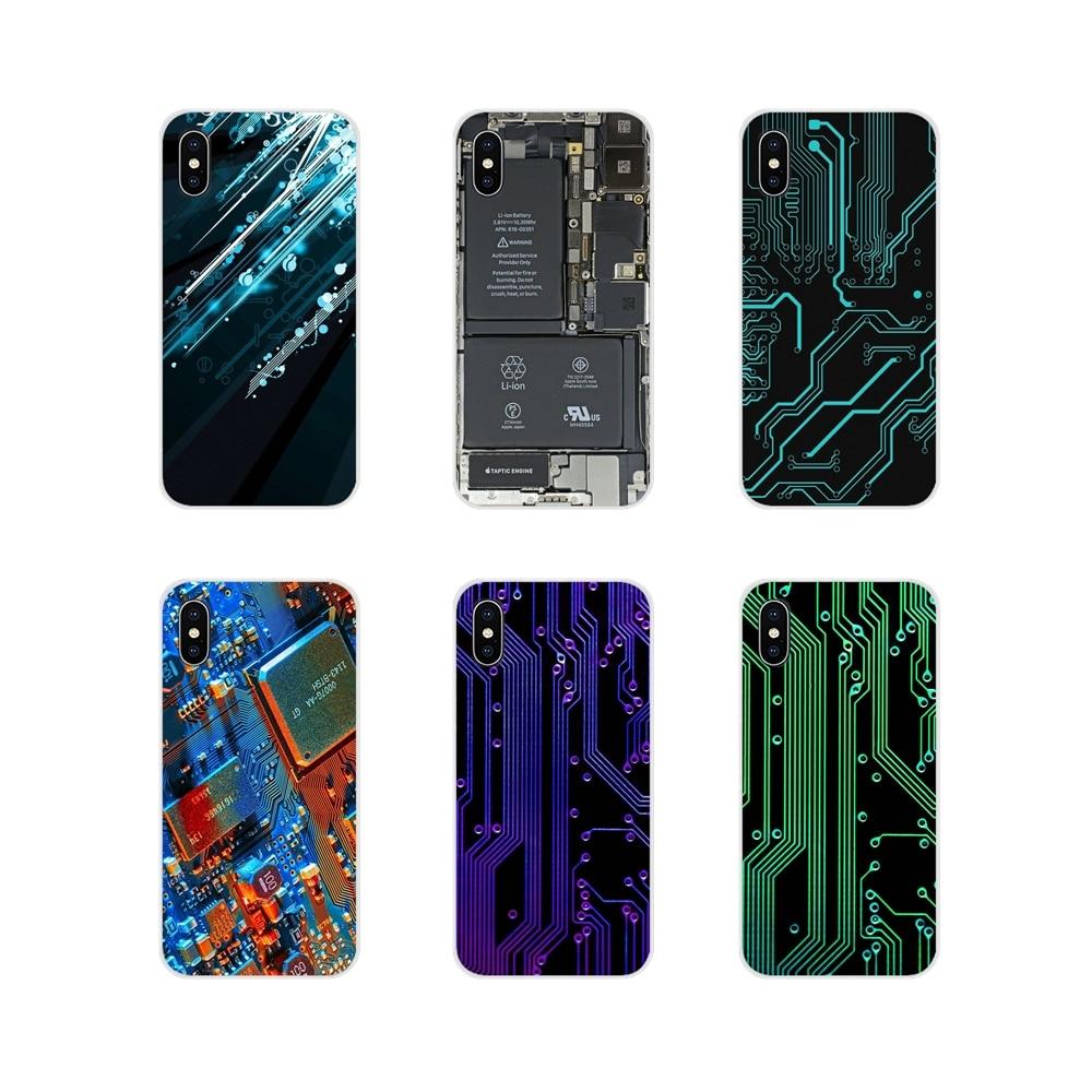 Acessórios Do Telefone Shell Capas Para Huawei Companheiro Honra 4C 5C 5X6X7 7A 7C 8 9 10 8C 8X20 Lite Pro Bateria Do Computador Placa de Circuito