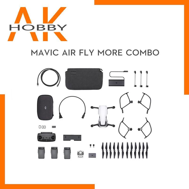 DJI Mavic aire/Mavic aire Fly More Combo drone 4K 3-eje cardán Cámara...