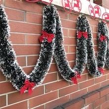 9 farben Pop 2M Weihnachten Eve Dekoration Bar Tops Band Girlande Weihnachten Baum Küche Ornamente Hochzeit Party Dekoration Prop