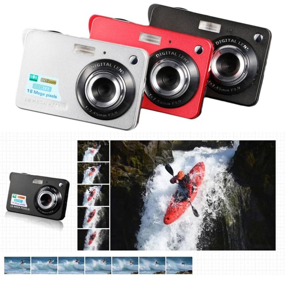 2.7 Inch TFT LCD Display 18MP 720P 8x Zoom  Digital Camera Anti-Shake Camcorder Video CMOS Micro Camera Children Gift enlarge