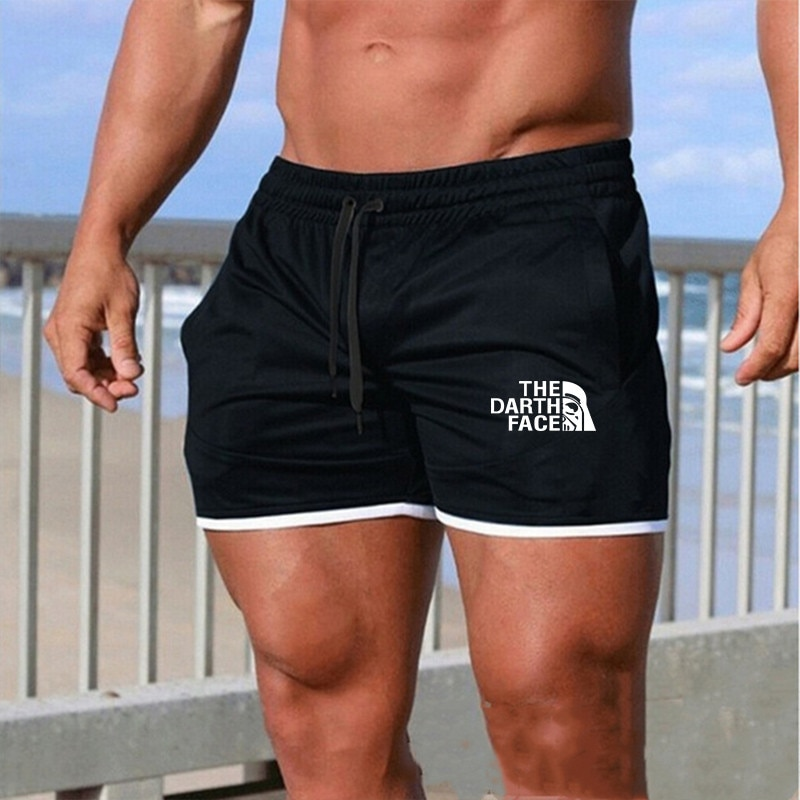 2020 hombres tiempo libre hombres longitud de rodilla pantalones cortos Color Patchwork Joggers pantalones cortos de chándal Pantalones Bermudas de hombre ropa masculina