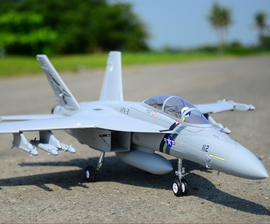 FMS RC Flugzeug F/A-18F F18 V2 Super Hornet 70mm Impeller EDF Jet Großen Maßstab Modell Flugzeug flugzeug, f18, F-18,F 18,PNP