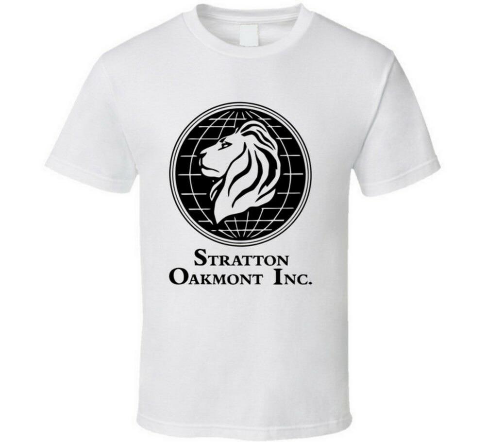 New Stratton Oakmont Wolf Wall Street Stock Trader Financial Movie T-Shirt TEE Shirt Cotton Customize