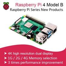 New Official Original Raspberry Pi 4 B 1G/2G/4G  Model B Development Board BCM2711 SoC DDR4 RAM USB 3.0 Support PoE Than Pi 3