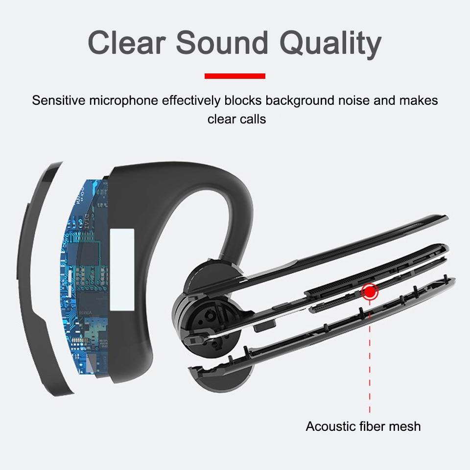 Retevis Wireless Bluetooth Headphones Walkie Talkie Headset Finger PTT For Kenwood Retevis Baofeng UV 5R UV 82 BF888S For Wouxun enlarge