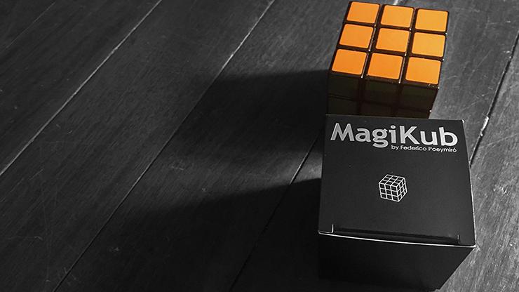 MAGIKUB de Nicolás Poeymiro (truco e instrucciones en línea)-accesorios para trucos mentalismo magia divertida ilusión cubo