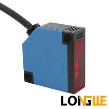 LONGWE cc AC 5 fils relais sortie 30cm 50cm diffus Photo capteur de proximité électrique commutateur E3JK-DS