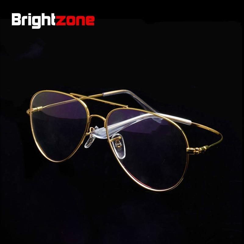 Free Shipping Memory Titanium Airman Aviattor Pilot Optical Prescripton Spectacle Eye Point Eyeglasses Frame Oculos De Grau Oukn