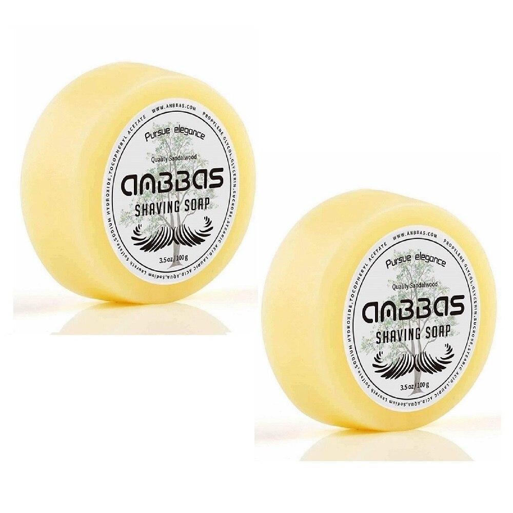 2 шт. Anbbas качественное сандаловое мыло для бритья заправка 3 5 унций парикмахера