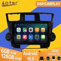 6128g for toyota highlander 2009 2010 2011 2012 2013 android car tape radio recorder video player navi gps multimedia head unit