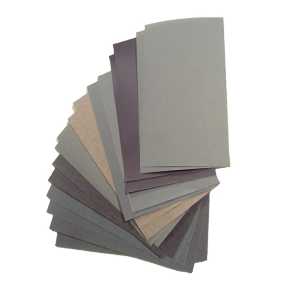 15db-os csiszolópapír készlet 400 600 3000 800 1000 1200 1500 2000 - Csiszolószerszámok - Fénykép 3