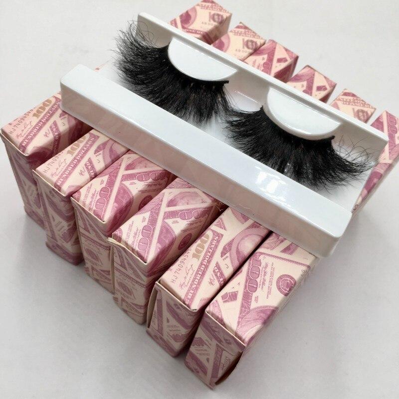 Cílios macios 25mm 6 pares/lote 5d vison cílios com caixa de dinheiro diferentes lash estilos para escolher vison cílios fornecedor