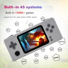 Console de jeu vidéo Portable Raspberry pi rétro CM3 Mini joueur de jeu Portable pré-installer Retropie 45 simulateur 15000 + jeux