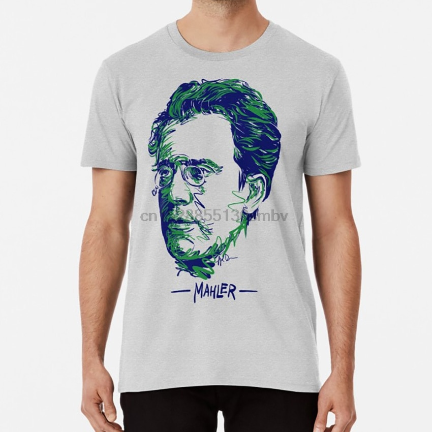 Camiseta de Gustav Mahler gustav mahler composer romántico música clásica de la Banda Sinfónica de la banda