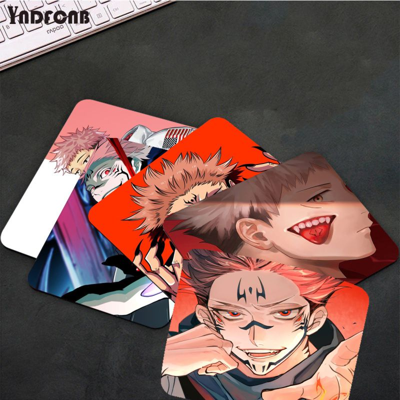 FNDFCNB juютсу Kaisen Yuji Itadori силиконовый коврик для мыши для игр Overwatchs Гладкий коврик для письма настольные компьютеры мат для игровой мыши коврик ...
