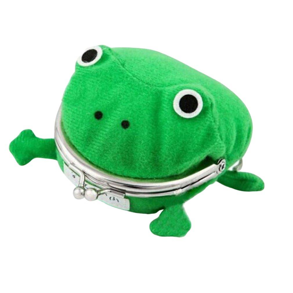 Dessin animé créatif grenouille porte-monnaie Naruto portefeuille Anime porte-monnaie vert grenouille portefeuille Jj11026