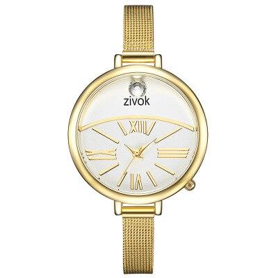 zivok Top Brand  WomenFashion Luxury Brand Woman Watch Bracelet Stainless Steel watches band Fashion Ladies Wrist Watch Clock enlarge