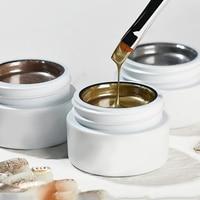 5g густой золотой, розовое, серебряное, зеркальное, металлическое покрытие для 3D рисования, светодиодный Гель-лак для дизайна ногтей, товары ...