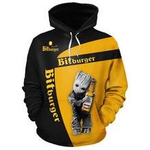 BITBURGER-New 20201 Autumn Winter Brand Mens Hoodies Sweatshirts Men High Quality 3D Print Long Slee