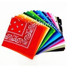 Bufandas de pelo multifunción para mujer, bufanda cuadrada estampada Unisex, para deportes al aire libre, ciclismo, accesorios para el cabello
