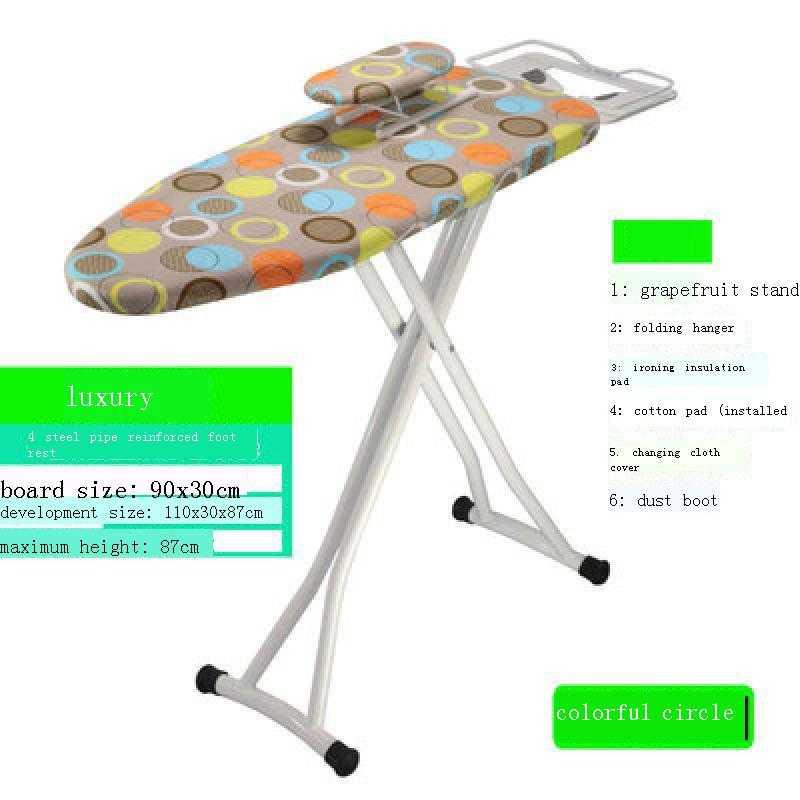 Maison Repassage Aksesuarlari Board Cover Household Funda Tabla Planchar Home Accessories Iron Plancha Ev Aksesuar Ironing Table enlarge
