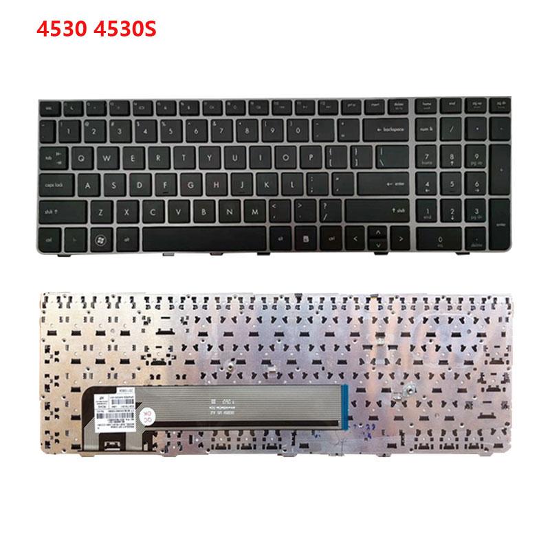 Новинка 95%, клавиатура с рамкой для ноутбука HP ProBook 4540 4540s 4545 45s 4530s