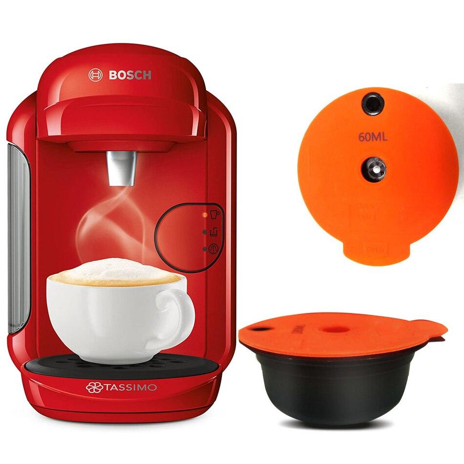 Réutilisable Tassim o Capsules de Cosse de Café Pour bo-sch Machine кофеварка Outils турка на кофе Filtre À Café