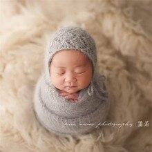 Accessoires de photographie pour nouveau-nés   Pellicule de fil de vison faite à la main, accessoires de photographie pour bébés