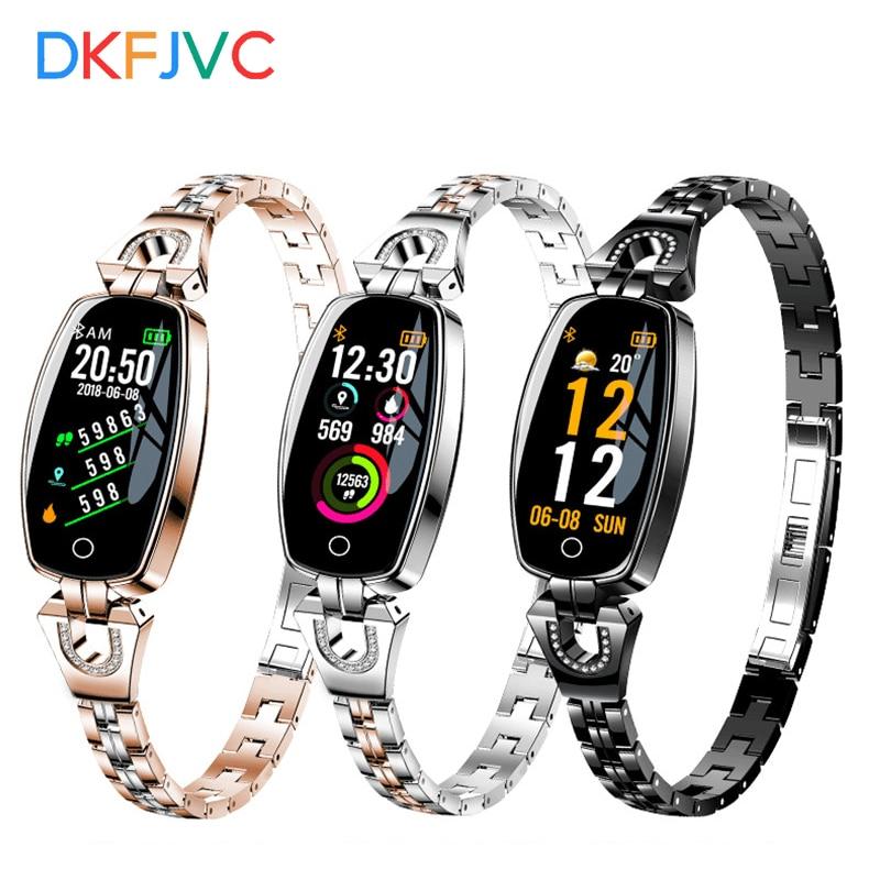 Women Health Smart Watch Bracelet Women's Watches Smartwatch Heart Rate Sleep Monitor Women's Wristwatch Smart Clock
